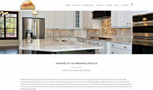 Paradise Homes Website